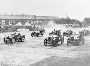 AUSTIN 7s & MGs Brooklands JCC High Speed Trial 1932